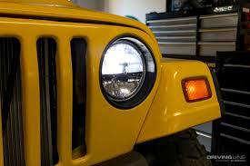 light yellow jeep quadratec u0027s gen ii led headlight review drivingline