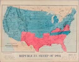 us map for sale united states political map republican sweep of 1894 sale