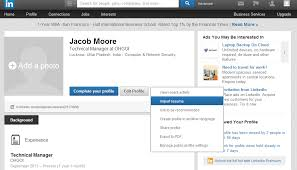 Build Resume Online by How To Upload Your Resume To Linkedin Job Market Social Networking