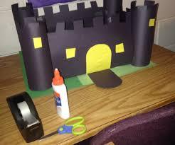 paper castle craft 13 steps