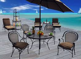Iron Patio Table And Chairs Painting Wrought Iron Patio Furniture Home Decorations Ideas