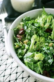 kale and broccoli salad with lemon poppy seed dressing recipe
