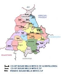 Punjab Map Sugarfed Punjab