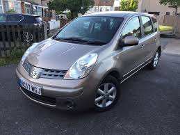 nissan note 1 6 acenta automatic 2007 57 low mileage in mitcham