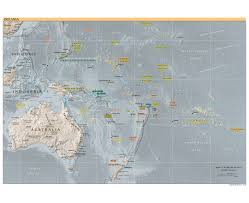 Us Relief Map Maps Of Oceania And Oceanian Countries Political Maps Road And