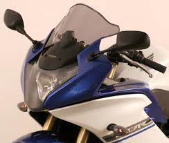 new honda 600 cbr mra screens for honda cbr 600 r rr f fs in black smoked or clear