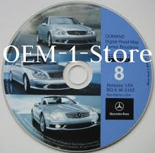 2003 2004 mercedes sl500 sl55 sl600 navigation nav cd 8 mid