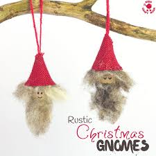 rustic gnomes craft room