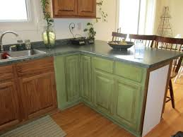 Kitchen Cabinets Painted White Green Painted Kitchen Cabinets Yeo Lab Com