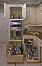 Kitchen Cabinet Interior Ideas Best 25 Kitchen Appliance Storage Ideas On Pinterest Appliance