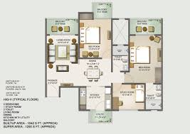 floor plan mahagun moderne