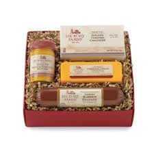 cheese and cracker gift baskets meat and cheese gift baskets hickory farms