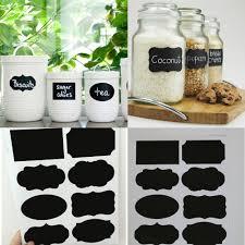 online get cheap chalkboard storage aliexpress com alibaba group free shipping 40pcs set new wedding home kitchen jars blackboard stickers chalkboard lables 20 5