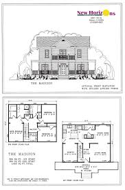 600 Sq Ft Floor Plans by Fine 2 Story House Floor Plans And Elevations O In Design