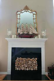 fireplace candle log sets image branch holder yankee logs fire