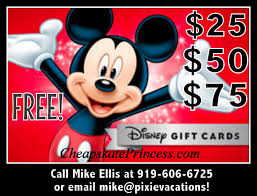 vacation gift cards get free disney gift cards for your vacation disney s cheapskate