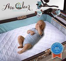 Crib Mattress Waterproof Cover Nursery Mattress Pads Covers Ebay