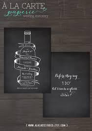 wine bottle chalkboard inspired wedding rehearsal dinner