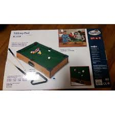 tabletop pool table toys r us bnib toy r us pavilion mini table top pool 6 toys games