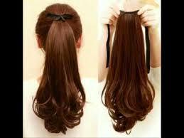 harga hair clip hair clip curly panjang ikat tali murah harga 65 ribu