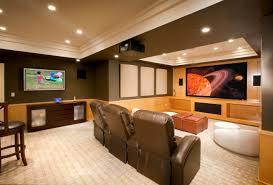 interior minimalist lighting design for home theater making