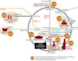 map usj 21 sightseeing hotel kanade osaka namba official website hotel