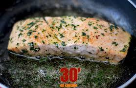 cuisine pavé de saumon pavé de saumon à la meunière 30 minutes en cuisine