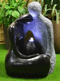 flower pot solar light patio water features u0026 self contained fountains waterfeatures2go