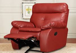 Red Recliner Sofa Reclining Sofa U0026 Loveseat In Red Bonded Leather By Glory