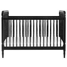 Black Convertible Crib Million Dollar Baby Libery 3 In 1 Convertible Crib Black Jcpenney