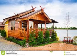 thai style house stock image image of exterior life 37994359