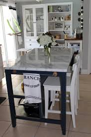 ikea kitchen island southern colonial ikea stenstorp makeover with marble top and