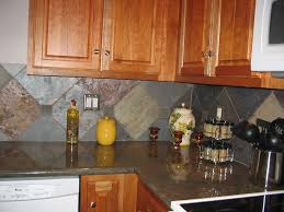 Slate Backsplash Kitchen Slate Backsplash Tiles Home Design Inspirations