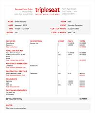 Free Change Order Template Excel How To Create A Banquet Event Order Template Tripleseat