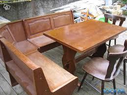 banc de coin cuisine table et banc de cuisine excellent table manger en chne naturel et