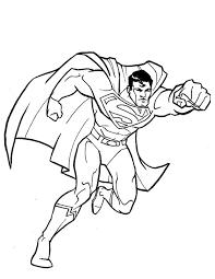 Coloriage Superman   imprimer gratuitement