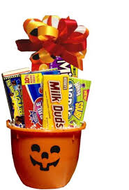 trick or treat halloween pumpkin gift basket http www