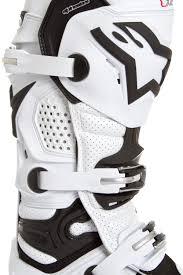 motocross boots alpinestars alpinestars mx boots tech 10 white vented 2018 maciag offroad