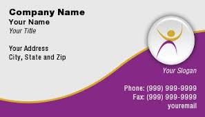 Fitness Business Card Template Template At108660 Fitness
