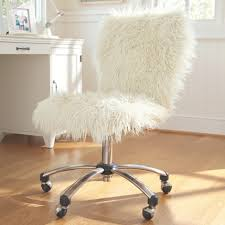 Armless Swivel Desk Chair by Furniture Best Way To Love Your Home With Cute Furry Desk Chair