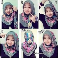tutorial memakai jilbab paris yang simple tutorial hijab segitiga untuk wajah bulat yang simple cara memakai