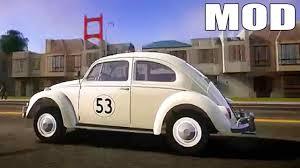 volkswagen beetle herbie gta iv san andreas beta volkswagen beetle 1962 herbie mod
