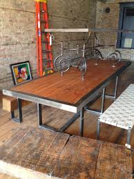 Outdoor Furniture Savannah Ga by Now That U0027s A Dining Table Old Bowling Alley Lanes Wood Victory