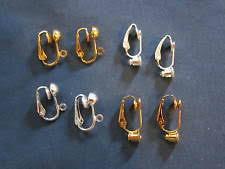 clip on earring converter clip on earring converters ebay