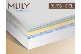 mlily bliss memory foam gel king size mattress mlily usa bliss