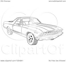 brawny muscle car coloring pages for el camino omeletta me