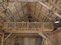 beautiful image of rustic home interior decoration using barn