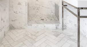 Carrara Marble Floor Tile Marble Floor Tile The Tile Shop