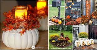 autumn decorations 20 diy outdoor fall decorations that ll beautify your lawn and