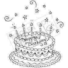 broken box stock free birthday cake digital stamp